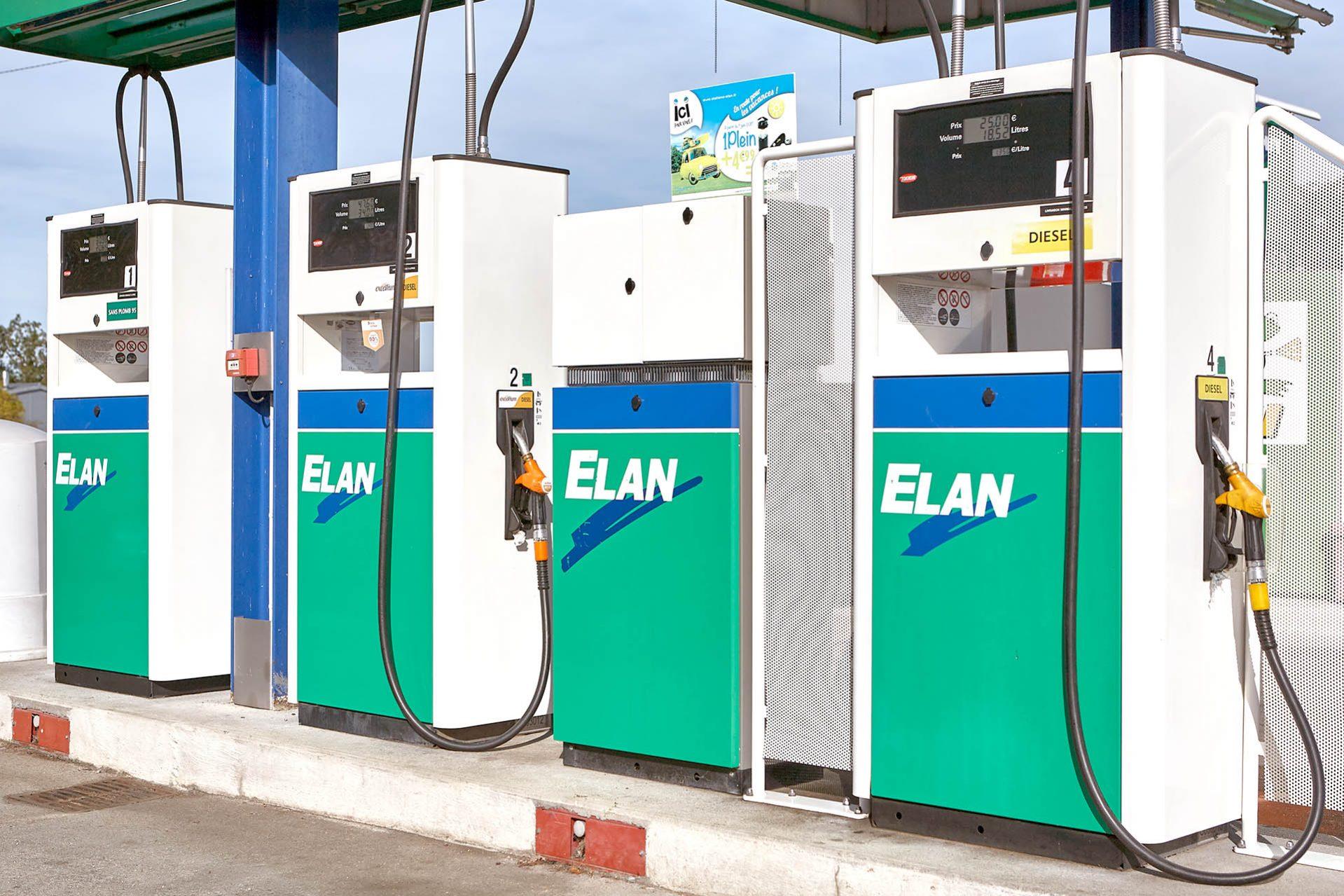 Station essence Elan Total