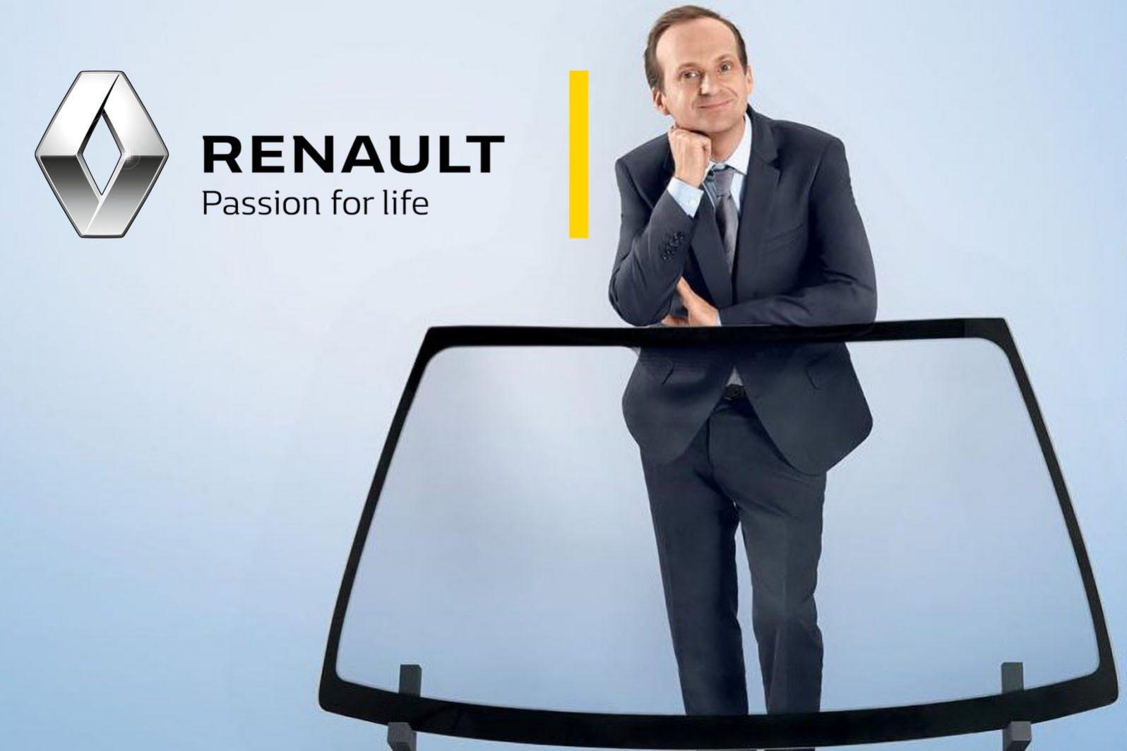 Remplacement de pare brise par le garage Duverger Renault